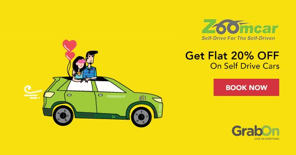 If you love to drive, this offer is for you!  #ZoomCar #ValentinesDay #roadTrip
