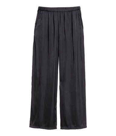 Vide bukser | Sort | Dame | H&M DK