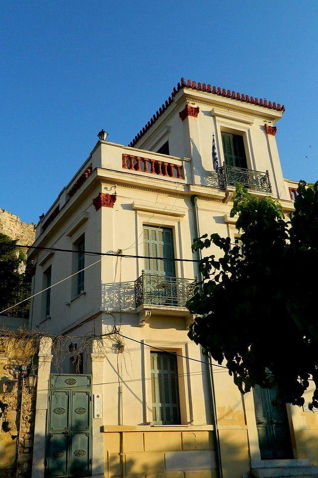 Neoclassical House.. Plaka, Athens, Greece