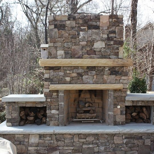 Outdoor Fireplace Kits For Sale | FireRock Outdoor Fireplace Kit