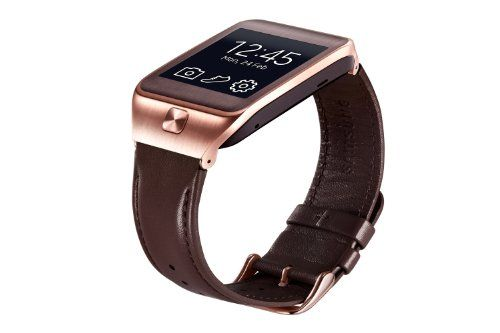 Buy Samsung Galaxy Gear 2 Neo Brown Leather Watch Band Strap NEW for 21.49 USD | Reusell