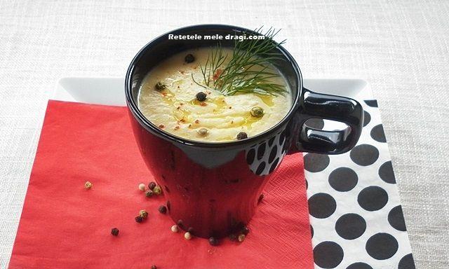 Supa crema de naut • Retetele mele dragi