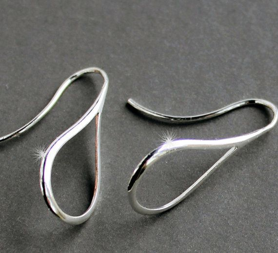 Sterling Silver Jewelry Earrings  Marquis  by NewMorningJewelry, $19.50