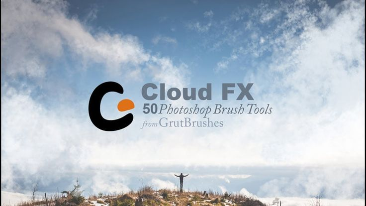 Cloud FX GrutBrushes • 50 Photoshop Cloud Tools
