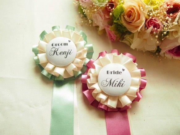 wedding ♡ ロゼット ウェディング