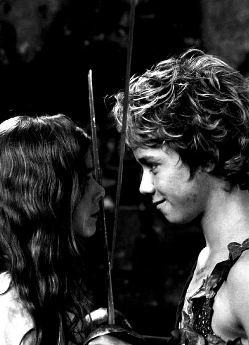 Jeremy Sumpter and Rachel Hurd-Wood for Peter Pan.
