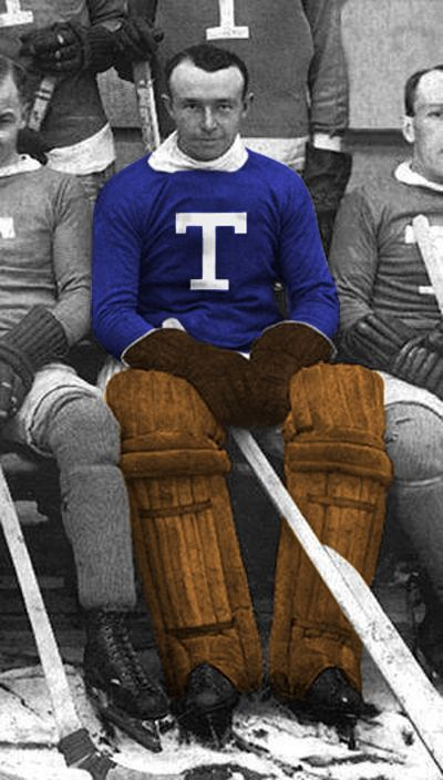 toronto arenas Holmes was inducted into the Hockey Hall of Fame in 1972 and the American Hockey League award for the top goaltender each season is named the Hap Holmes
