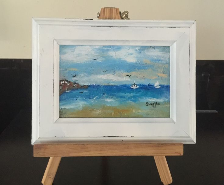 Buy The sailboats, Acrylic painting by Suzette Datema on Artfinder. Discover thousands of other original paintings, prints, sculptures and photography from independent artists.