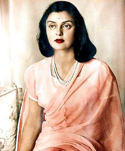 Maharani Gayatri Devi                                                                                                                                                                                 More