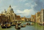 The Entrance to the Grand Canal, Venice, c.1730  by (Giovanni Antonio Canal) Canaletto