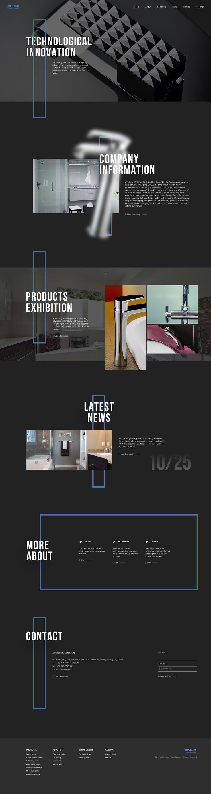 Website 01 on Behance