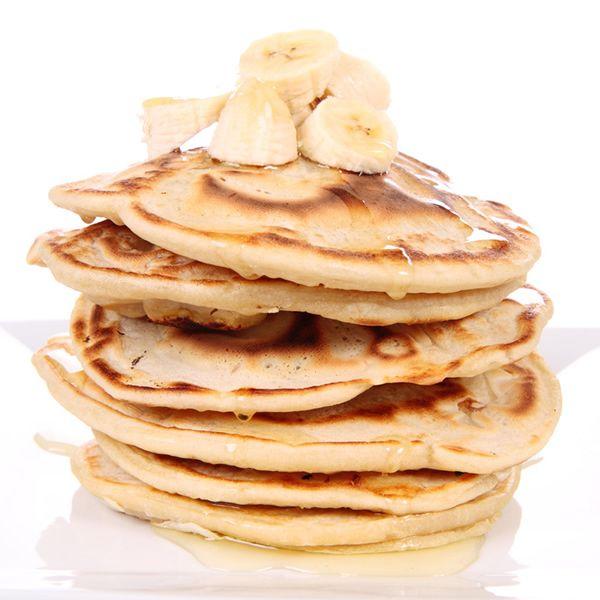how to make banana pancakes with premade mix