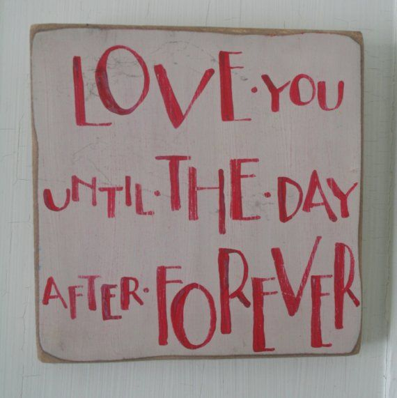 love you forever + a day!