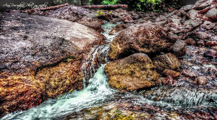 Stone river at Hang Mui River Stone - 01 | Singkawang Town - West Borneo