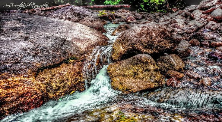 Stone river at Hang Mui River Stone - 01   Singkawang Town - West Borneo