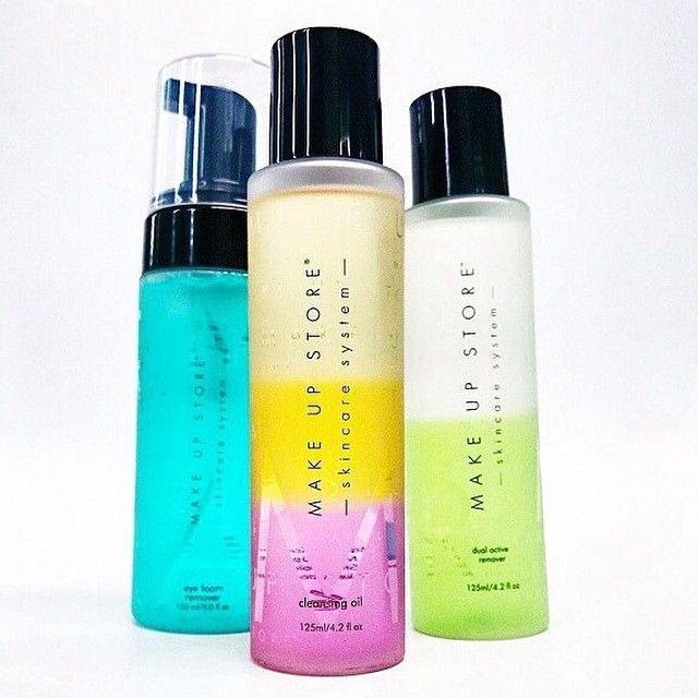 Cleansing products. Productos desmaquillantes y de limpieza facial de Make Up Store. www.makeupstorespain.es