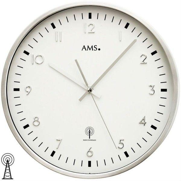Nástenné hodiny 5914 AMS riadené rádiovým signálom 35cm