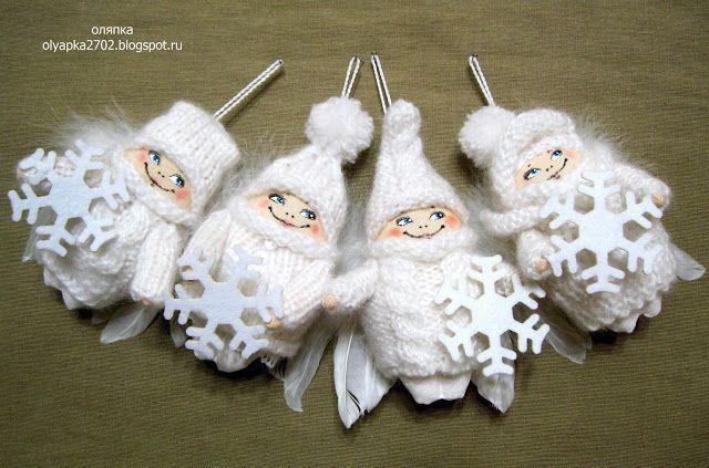 тихая мышь: Снежные ангелы