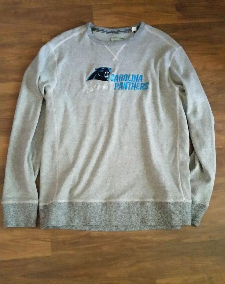 Carolina Panthers Sweater Tommy Bahama Shirt Mens Size XL Gray NFL Football  | Sports Mem, Cards & Fan Shop, Fan Apparel & Souvenirs, Football-NFL | eBay!