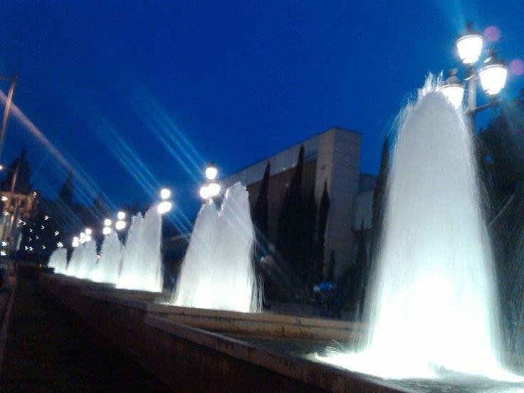 Fontana Magica di Montjuïc a Barcellona
