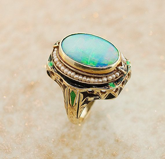 how to take care of an opal ring
