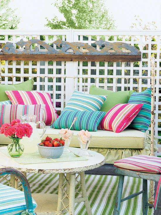 9 tips to getting your Cottage Styled Colors Right!: Outdoor Rooms, Outdoor Living, Decorating Ideas, Backyard, Colorful Patios, Garden