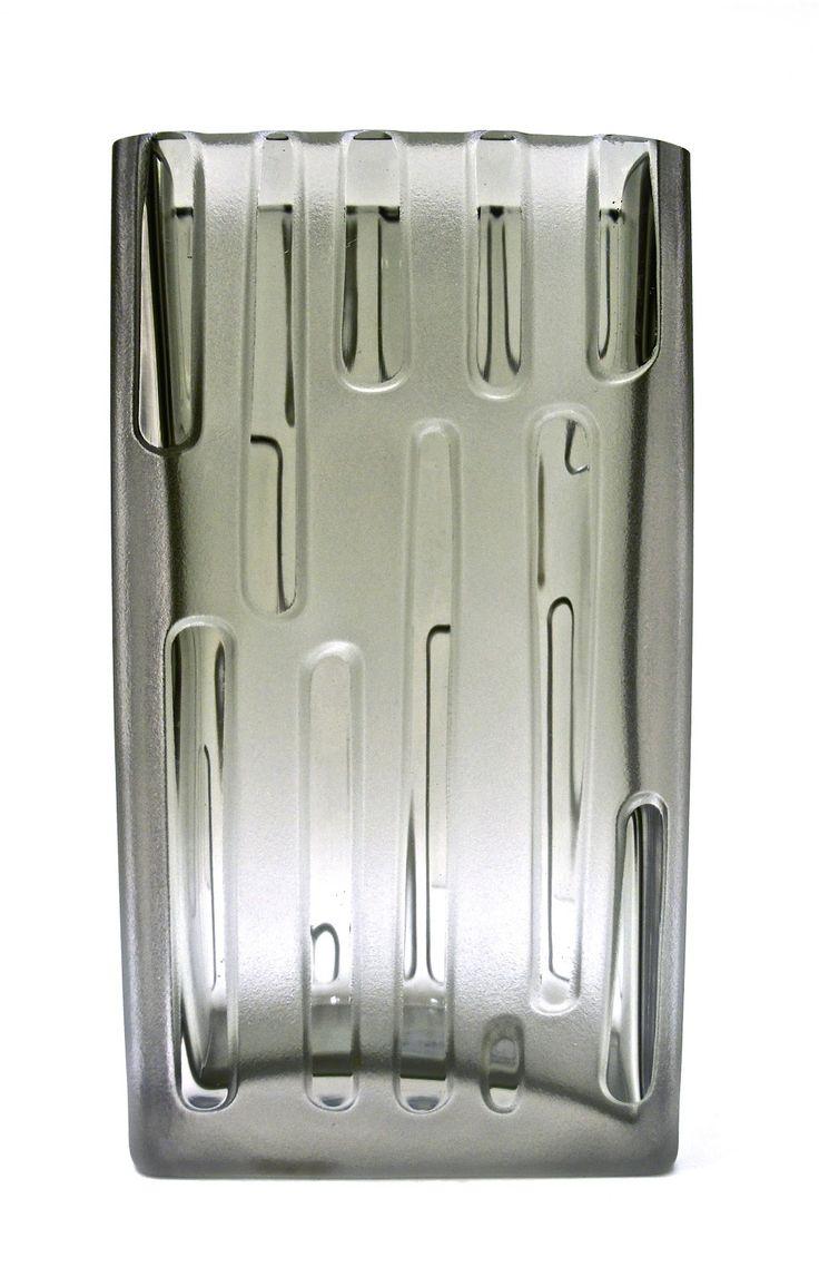"""Iittala Glass 8.5"""" tall byTapio Wirkkala 1960 Finland"""