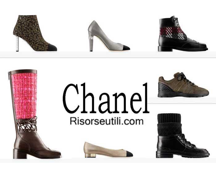 Shoes Chanel fall winter 2016 2017 footwear for women