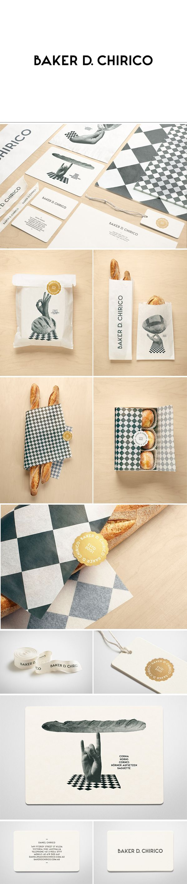 Baker D. Chirico #packaging #branding #marketing PD