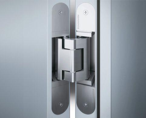 TECTUS TE540 A8 Speciaal onzichtbaar deurscharnier met zeer lange scharnier armen. Bedoeld om de deur OM een koplat / chambrant heen te laten draaien. Uw deur 180 graden open!