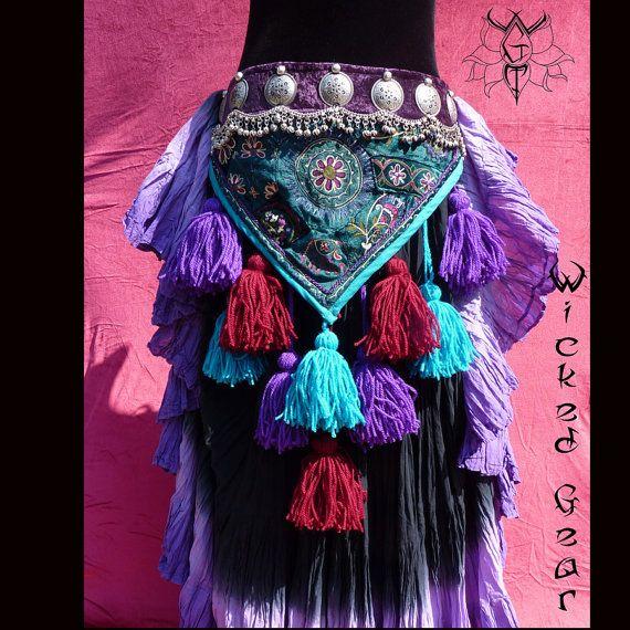 All in One ATS/ITS Tassel Belt Tribal belly por WickedGearTribal