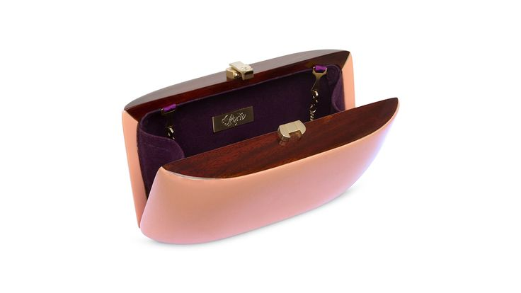 Candy Clutch_Salmon