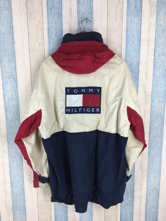 TOMMY HILFIGER Jacket Large Vintage 90's Sportswear Tommy