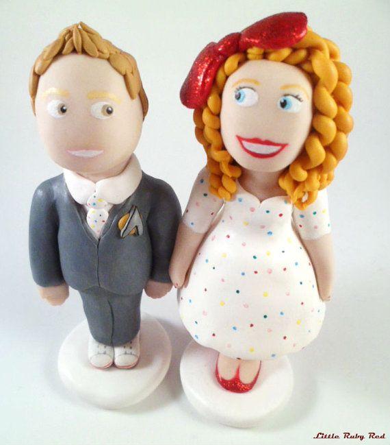 Unique Cake Toppers - custom figurine