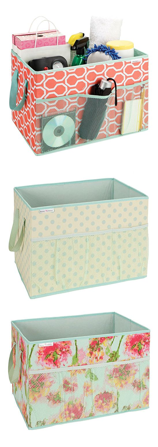 Trunk organizers in super cute designs