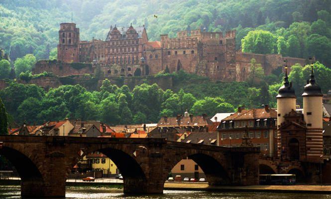 heidelberg altstadt | Heidelberg Die romantische Altstadt und das Heidelberger Schloss sind ...