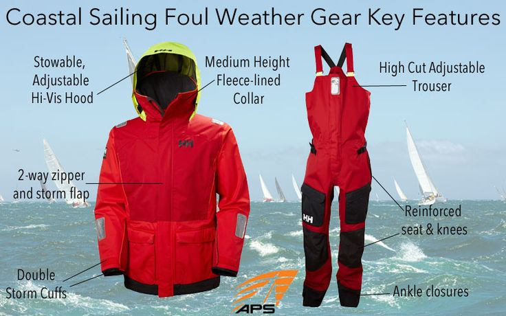 Learn about coastal sailing foul weather gear at the APS Advisor, the authority for leaning about sailing, sailing gear, and the sailing lifestyle.