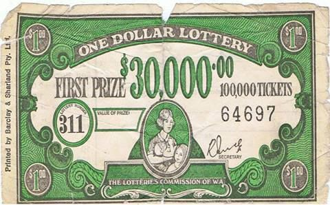 $1 Lottery, check if you're a winner in the daily news...