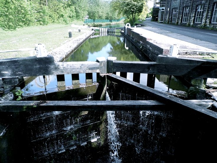 Taken on the Rochdale Canal whilst walking from Littleborough to Walsden. The lock gates featured are of Thickone Lock which is lock number 43 on the canal.