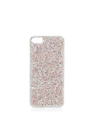 Pink Crystal iPhone 5 Case | New Look