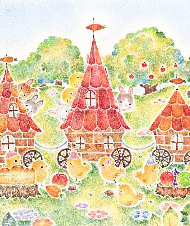 絵本作家 Atelier Rili アトリエ リリ うさぎ イラスト かわいい