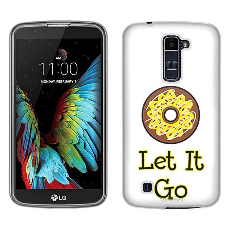 LG Premier LTE Donut Let It Go Yellow Skim Case