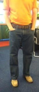 Clarks employee Rick A wears Drebin loafersClark Employee, Employee Rick, Wear Drebin, Drebin Loafers
