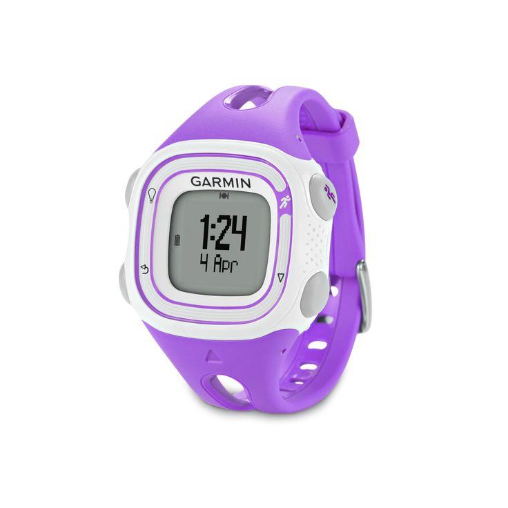 Garmin Forerunner 10 GPS Watch (Violet)
