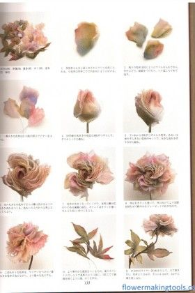 715 best millinery flower images on pinterest headpieces how to make silk flowers mightylinksfo Gallery