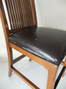 Leather Dining Chair Seat Covers