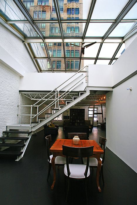 1000 ideas about glass ceiling on pinterest ceiling for Tribeca loft for sale