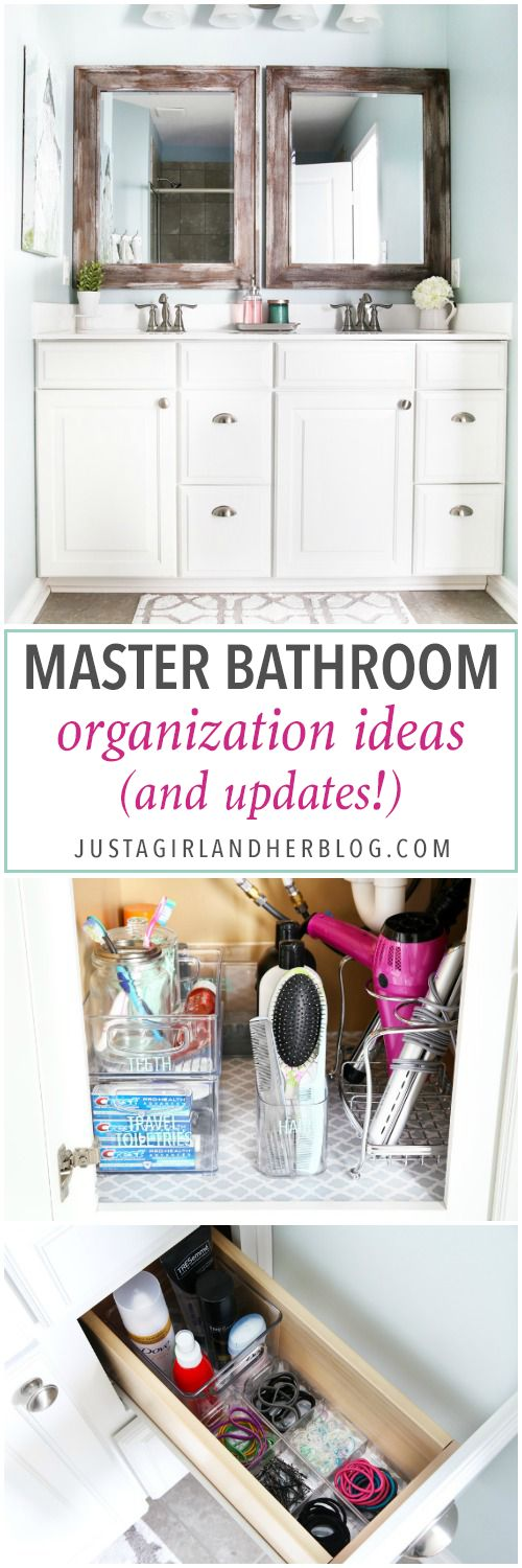 Master Bathroom Organizing Ideas: 618 Best Just A Girl And Her Blog Images On Pinterest