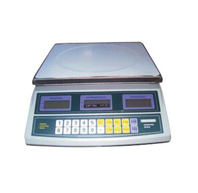 COUNTING SCALE ( TIMBANGAN HITUNG )  Feature: 1. Tipe BCS-N 2. Kapasitas: 3 Kg      Ketelitian: 0,1 Gr     Kapasitas: 6 Kg  Ketelitian: 0,2 Gr     Kapasitas: 15 Kg  Ketelitian: 0,5 Gr     Kapasitas: 30 Kg  Ketelitian: 1 Gr 3. Tegangan listrik AC 220V, DC 6V/4V 4. Mempunyai battery indicator, battery isi ulang.  5. display cepat. 6. Akurat & efisien dalam berat.