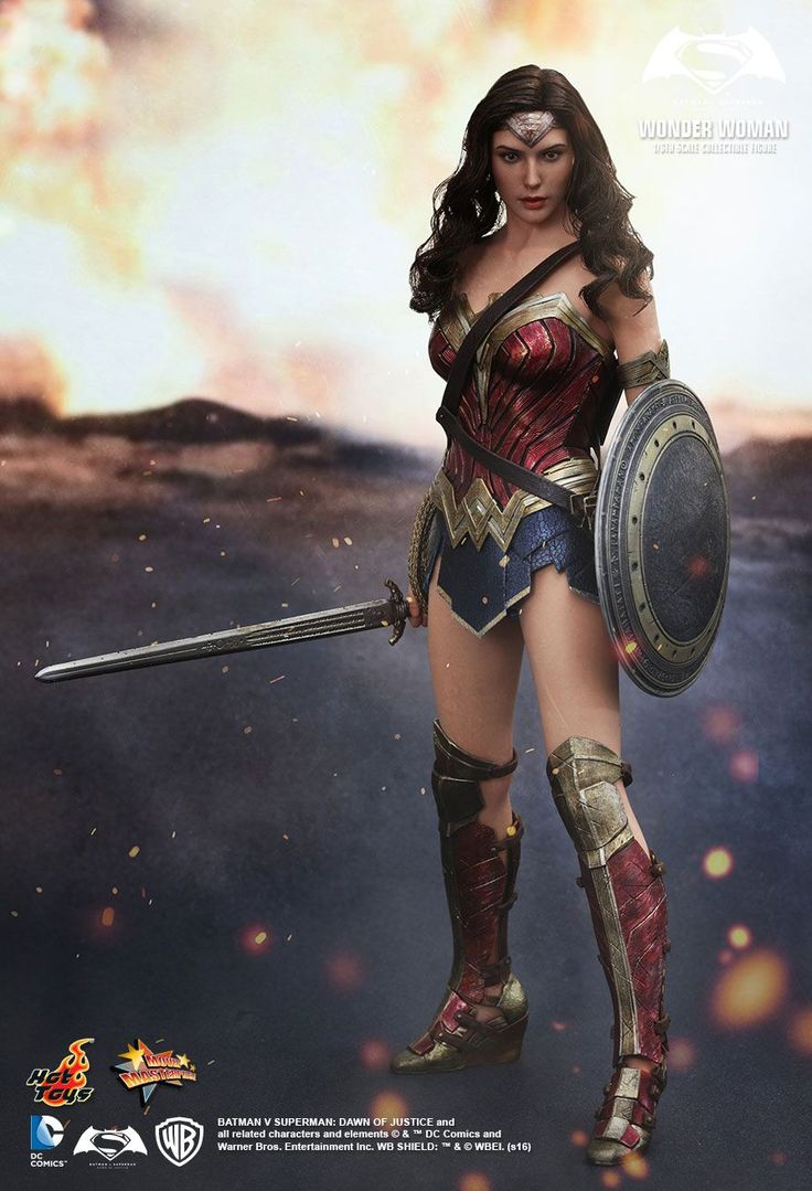 Hot Toys : Batman v Superman: Dawn of Justice - Wonder Woman 1/6th scale Collectible Figure